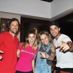 Kayky Brito e Rodrigo Simas ontem no Restaurante Alagoas Byhellip