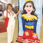 Carmen Dantas e a Mame Flagrante de alegria ao verhellip